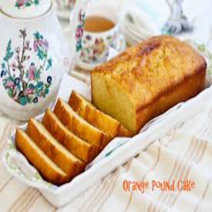 Order Orange Tea Cake 9 Inch Loaf Cake From Bakes By Jana In Lahore Freshstore