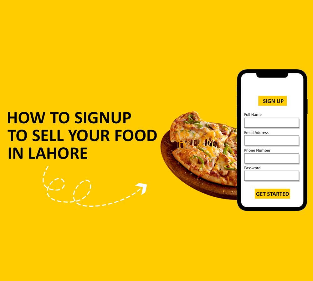 How to Sign up on Freshstore pk to sell your Food