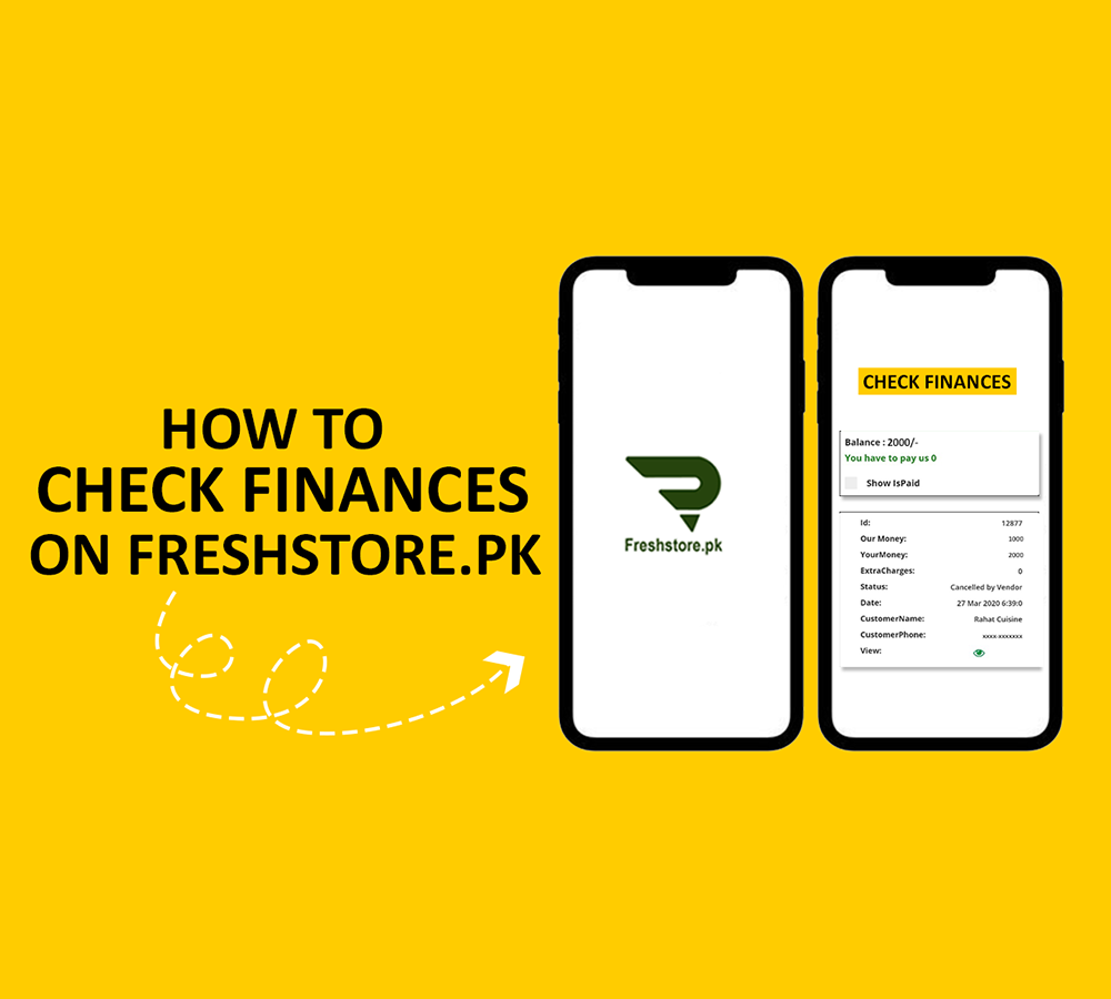 How to Check Financial Details on Freshstore.pk
