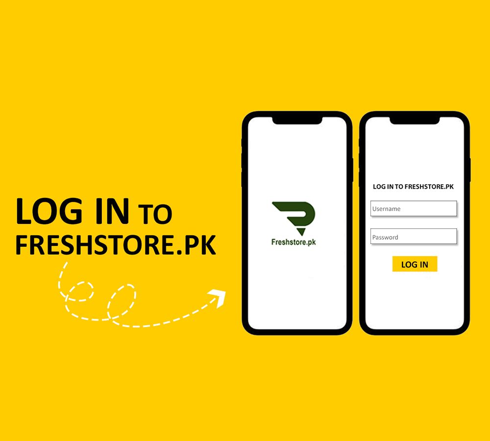 How to Log in on Freshstore.pk