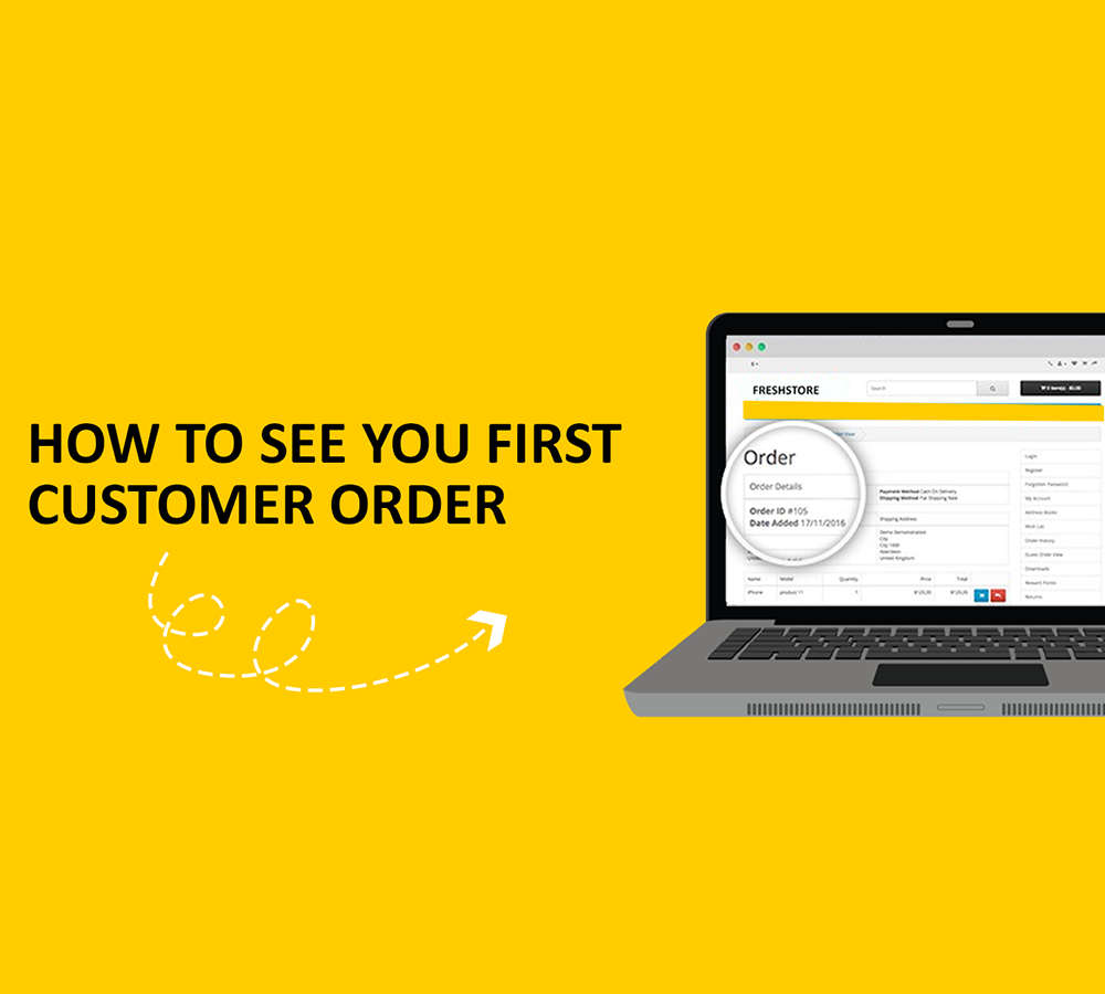 How to See Your First Customer Order on Freshstore.pk