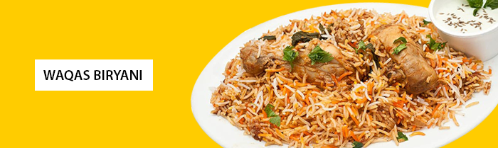Waqas Biryani of Hall Road Lahore