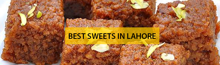 Sweets in Lahore